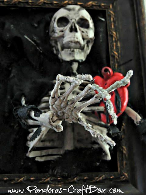 Halloween Skeleton Frame Diy Inspired