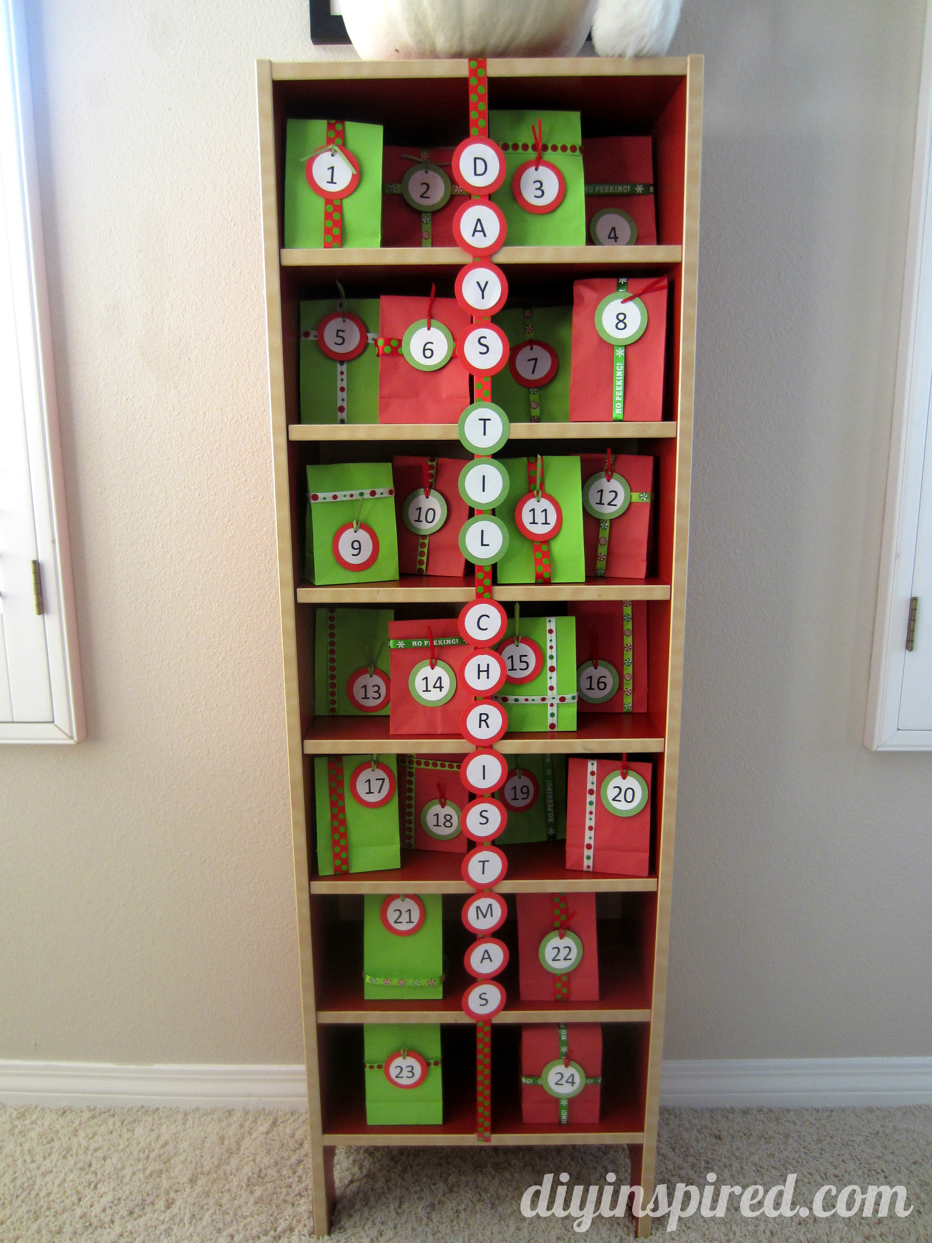 Cd Tower Advent Calendar Diy Inspired