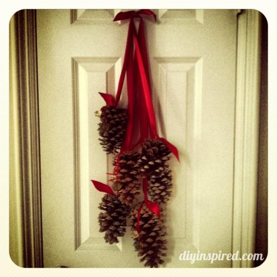 Hanging Pine Cone Decoration - DIY Inspired