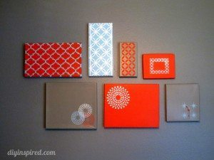 Shoe Box Lid Wall Art (13)