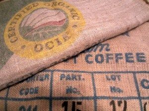 Flea Market Coffee Bean Sacks