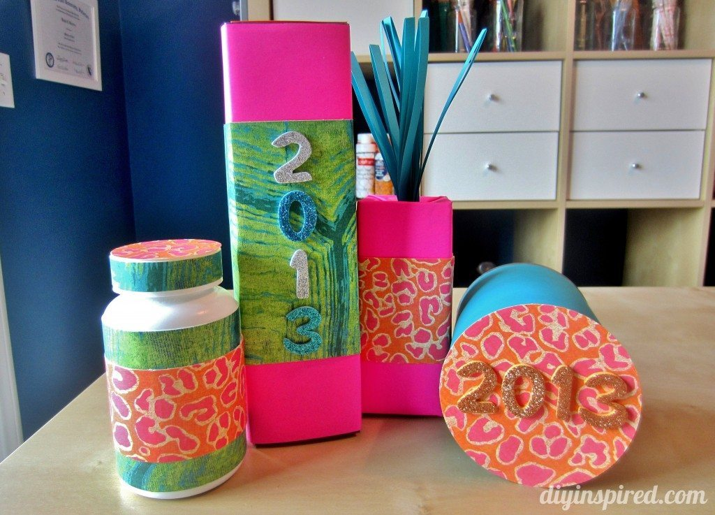 Kids craft ideas new year s noise makers diy inspired for Good arts and crafts