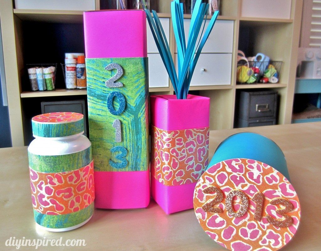 Kids Craft Ideas New Years Noise Makers (3)