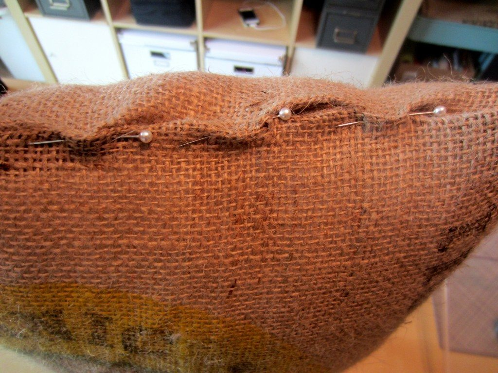 Recycled Coffee Bean Sack Outdoor Pillow (6)