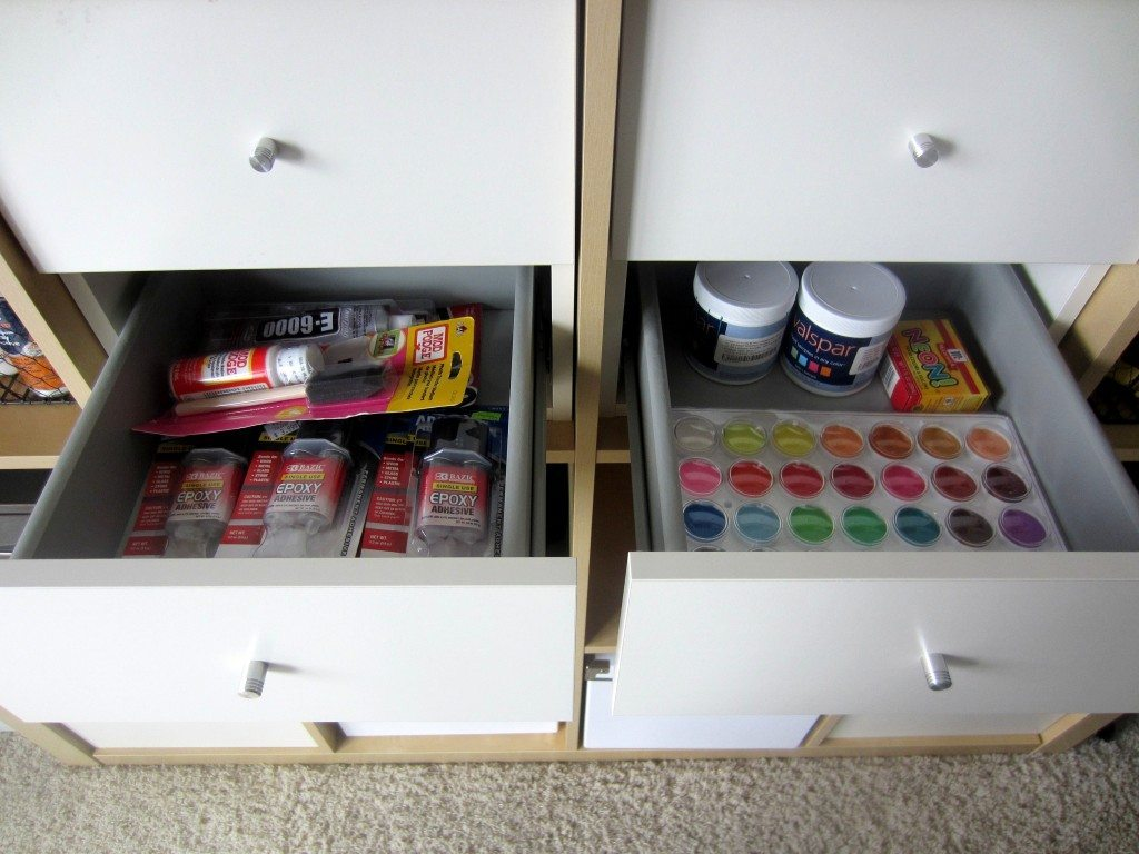 Craft Room Drawers