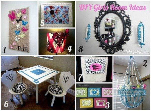 8 diy girls room ideas diy inspired
