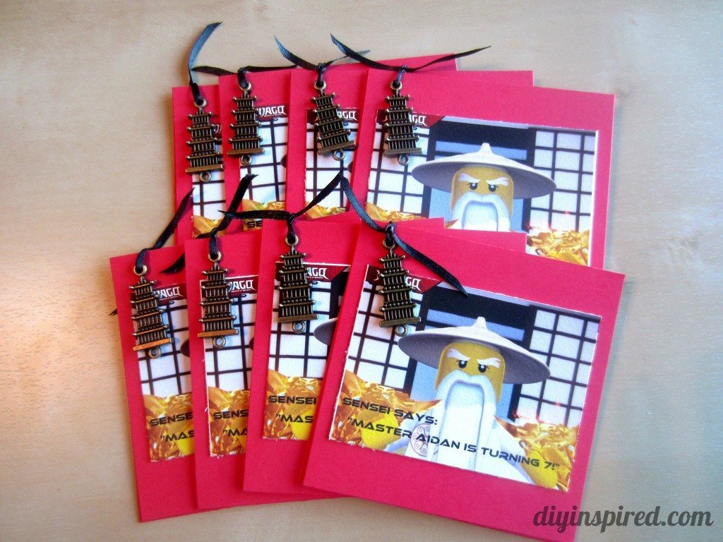 DIY Ninjago Birthday Invitations (1)