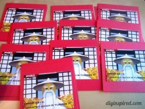 DIY Ninjago Birthday Invitations (4)