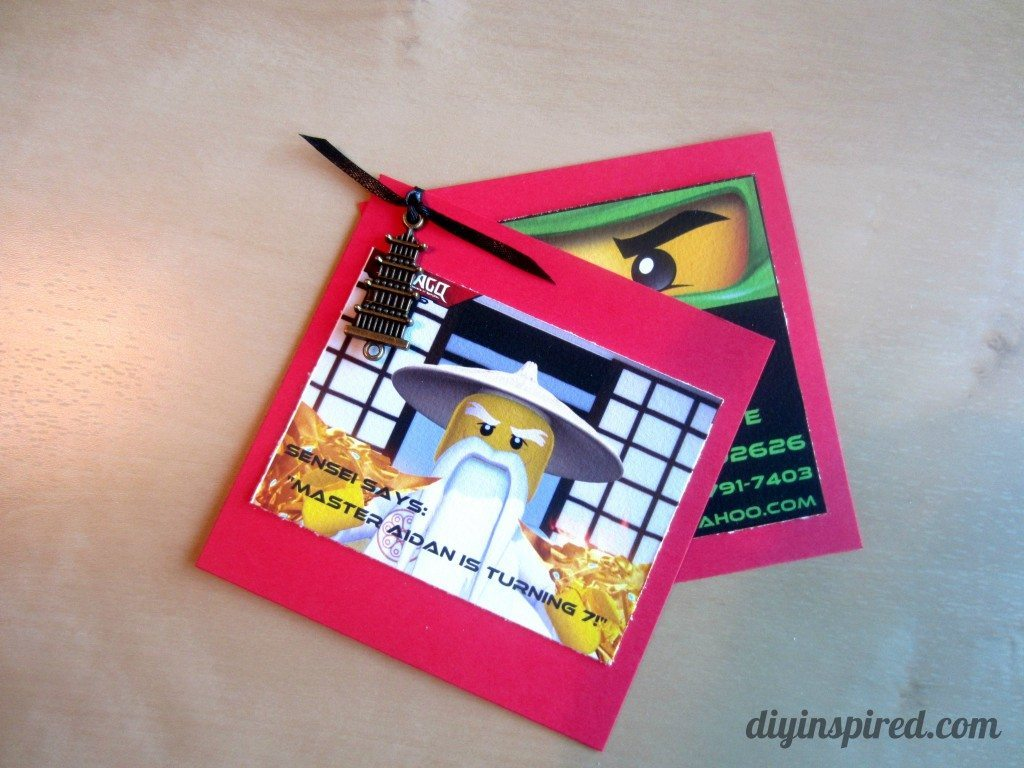DIY Ninjago Birthday Invitations (6)