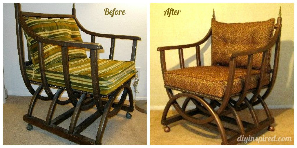 Flea Market Chair Makeover