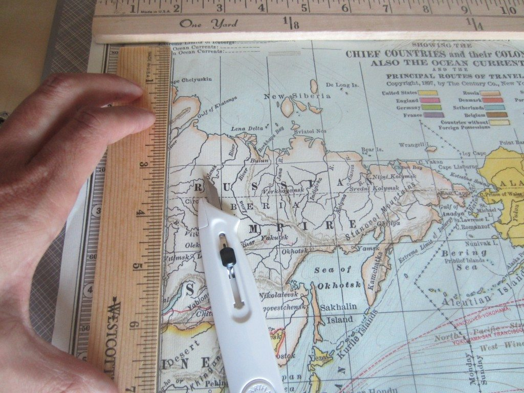 Recycled Map Drawer Makeover Tutorial (1)