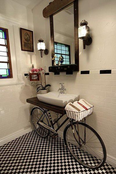 Repurposed Furniture for your Bathroom (3)