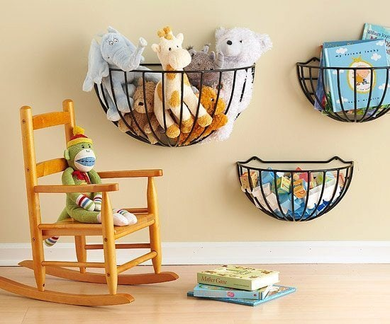 clever way of saving space, this is perfect for nursery with limited ...