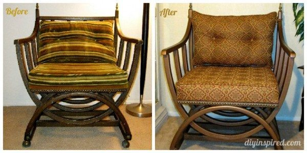 Thrift Store Chair Makeover Diy Inspired