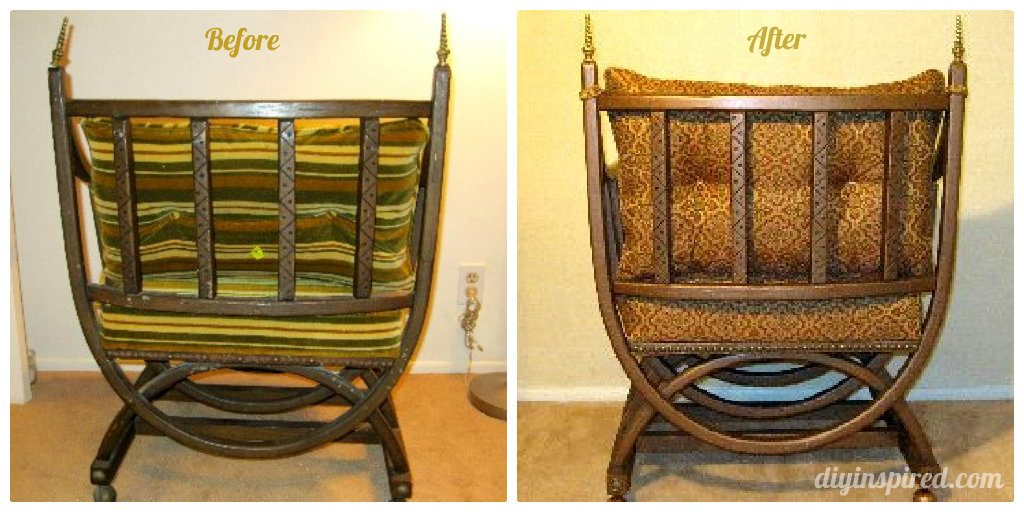 Upholstered Chair Makeover