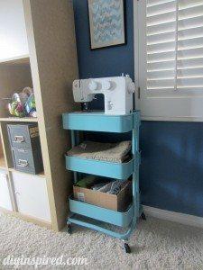 kitchen cart sewing storage