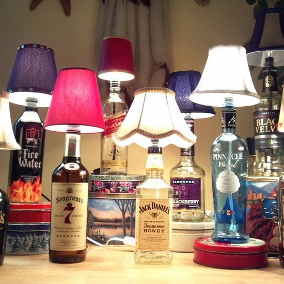 How to Make a Bottle Lamp