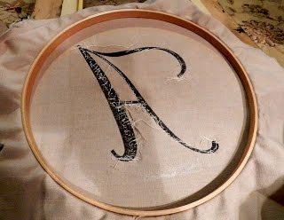 DIY Monogram Swarovski Pearls in a Frame (3)