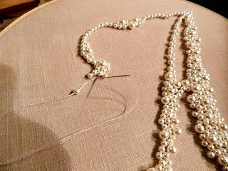 DIY Monogram Swarovski Pearls in a Frame  (4)