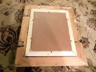 DIY Monogram Swarovski Pearls in a Frame (6)