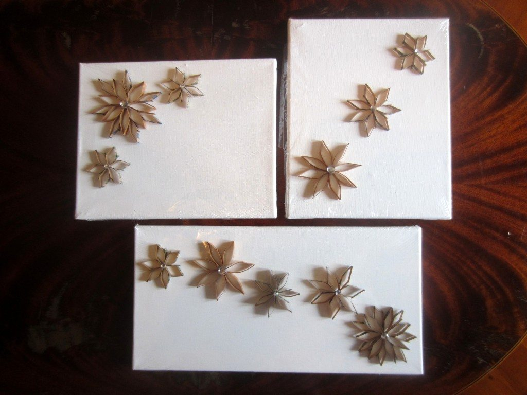 Recycled Coin Wrapper Flowers (7)