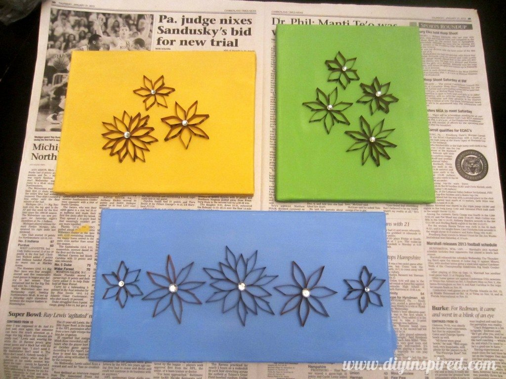 Recycled Coin Wrapper Flowers (9)