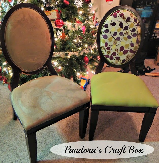 Dining Room Chair Repair And Reupholstering Makeover
