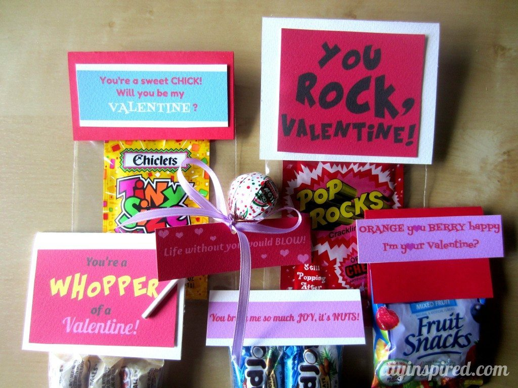 DIY Candy Valentines with a Free Printable - DIY Inspired