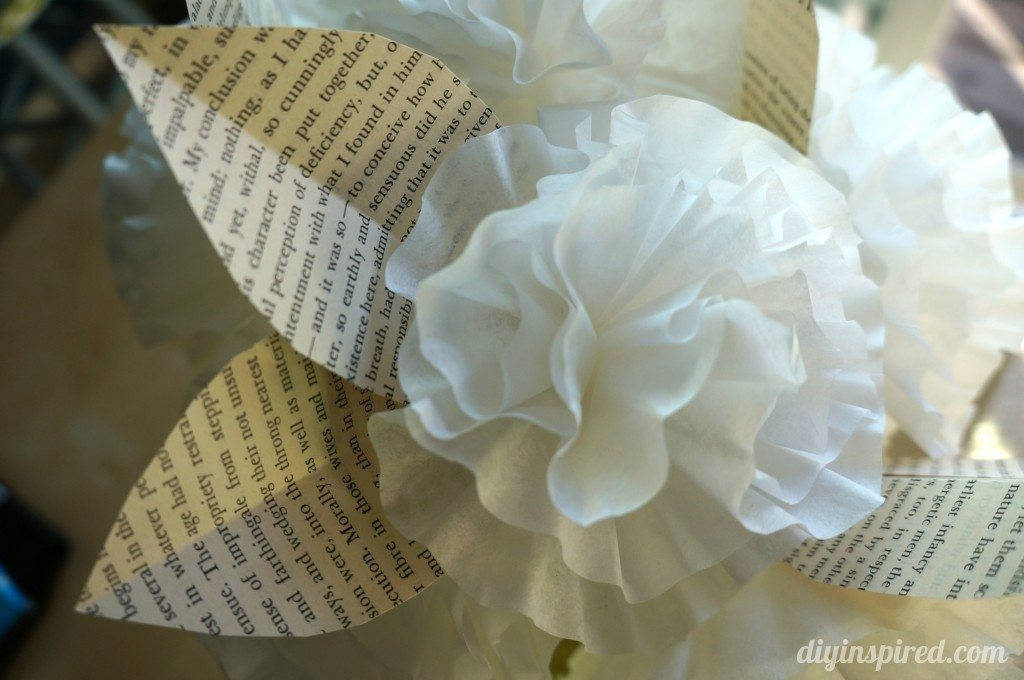 Coffee Filter Paper Flowers (7)