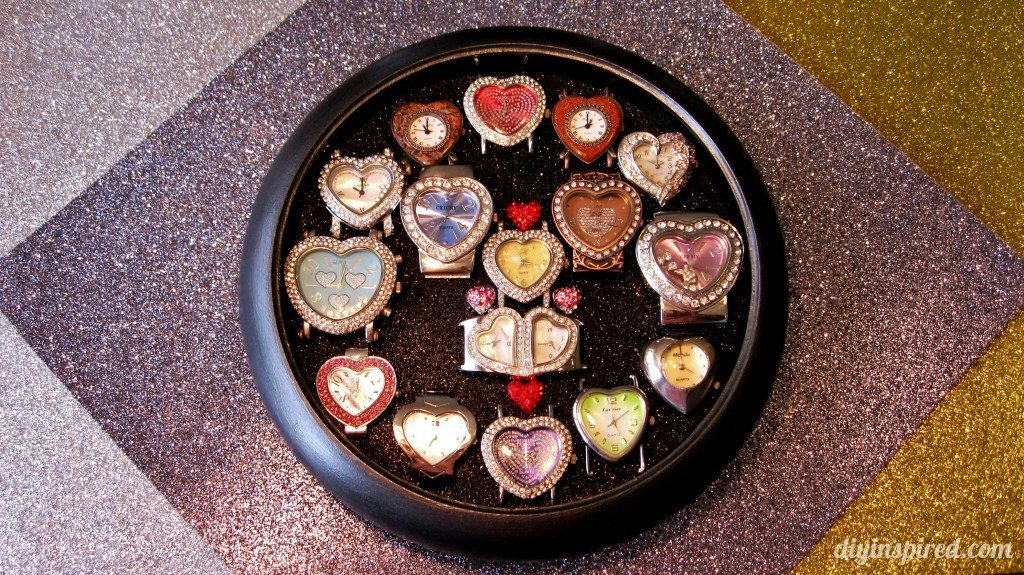 Recycled Clock Watch Display Case (1)
