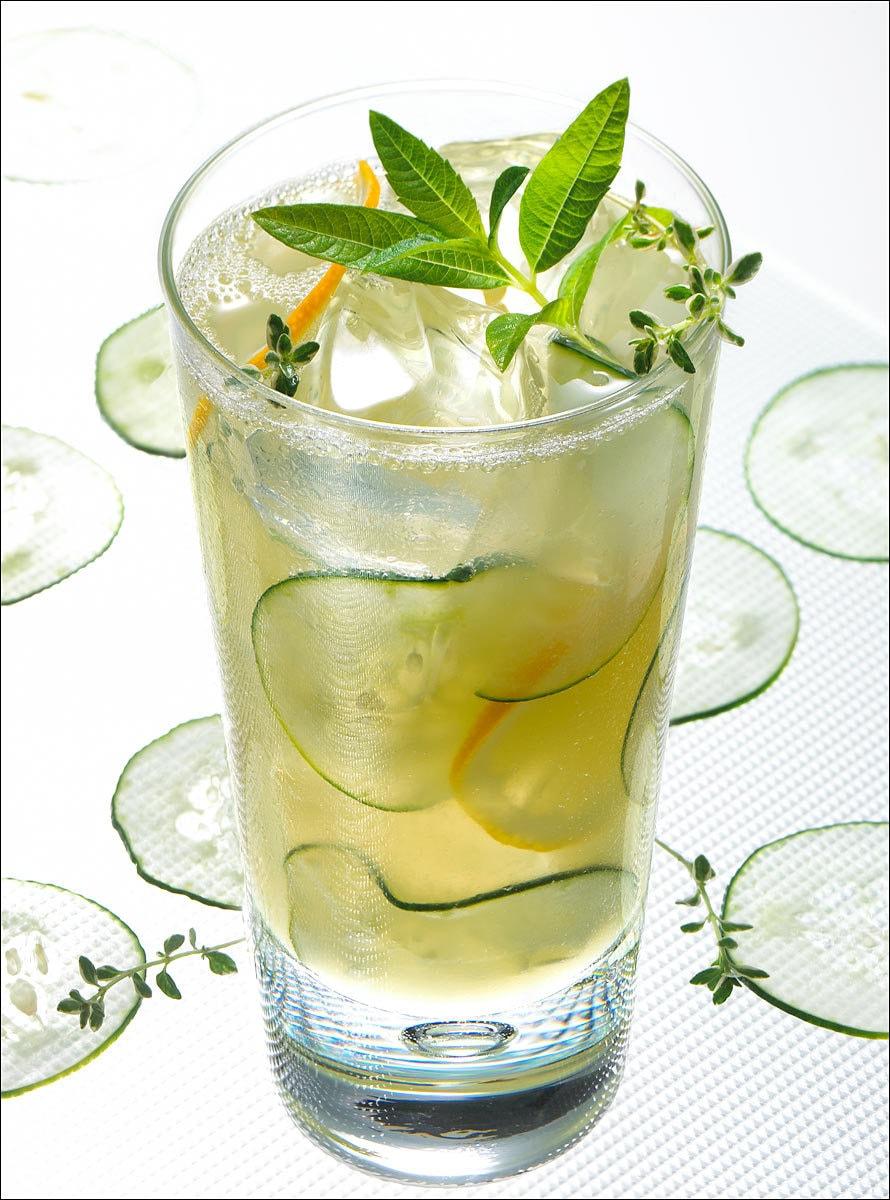 Cucumber Lemon Spritzer