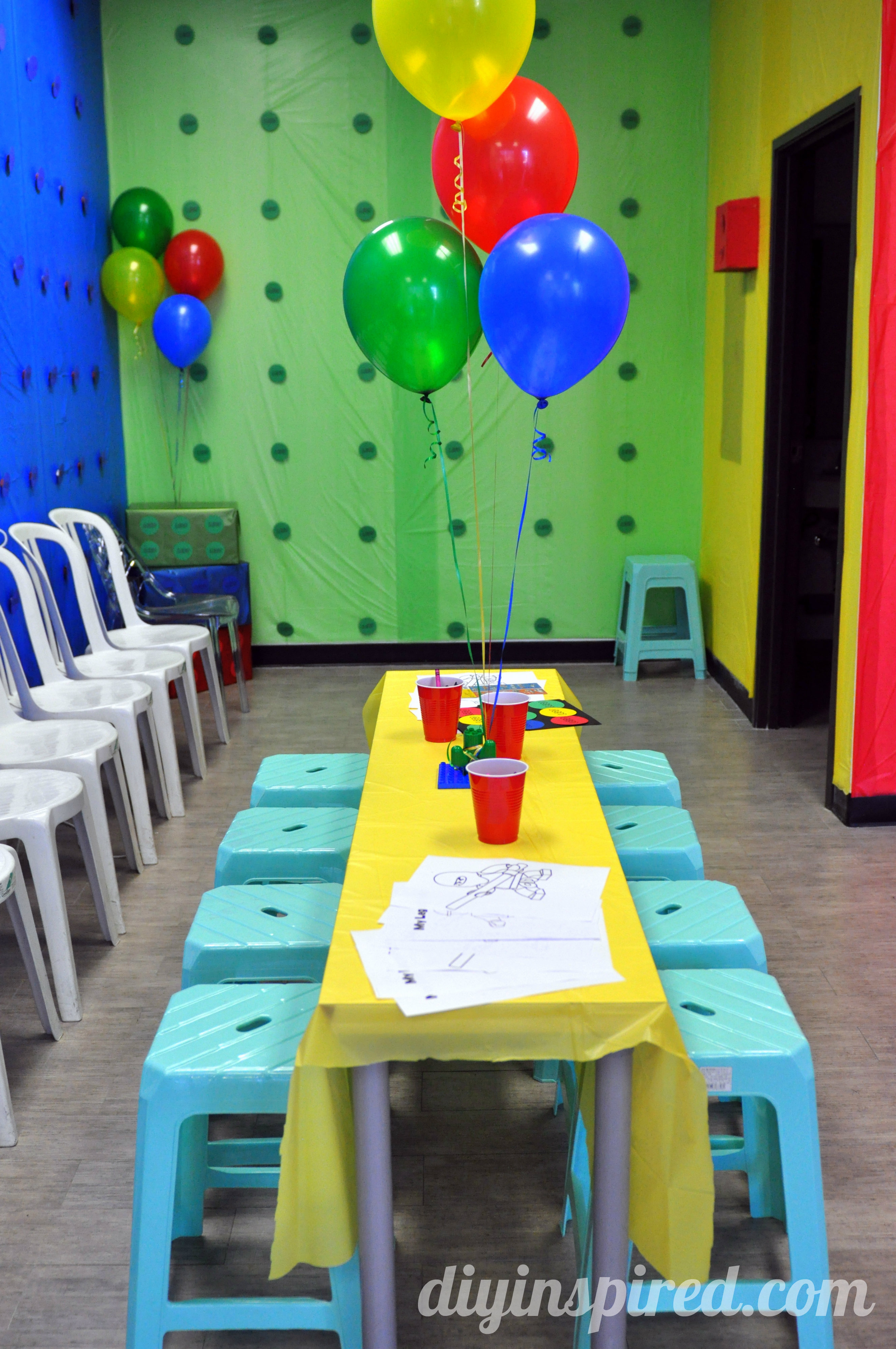 Lego Birthday Party - DIY Inspired