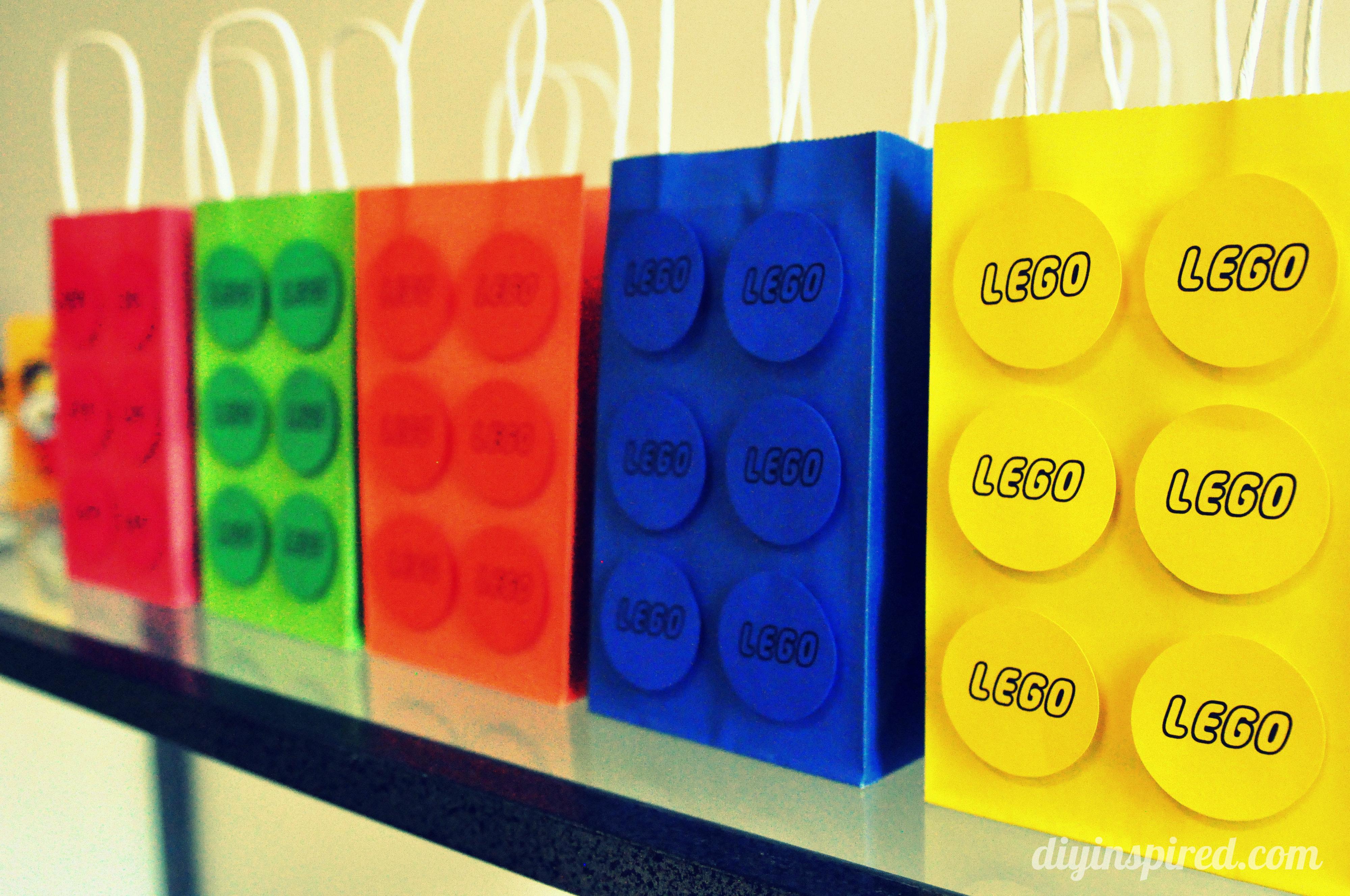Lego Birthday Party - DIY Inspired