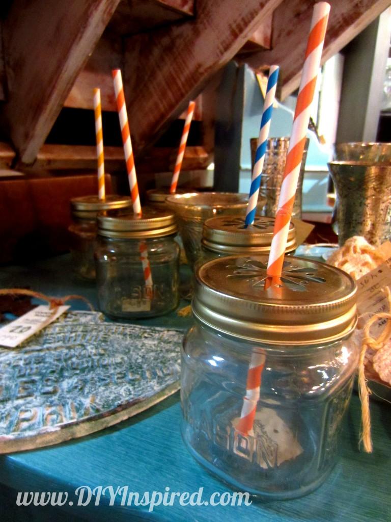 10 mason jar craft ideas diy inspired for Craft ideas for empty jars