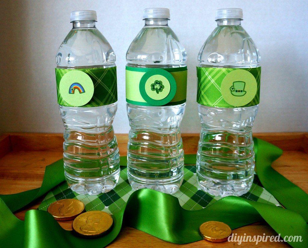 st-patricks-day-water-bottles
