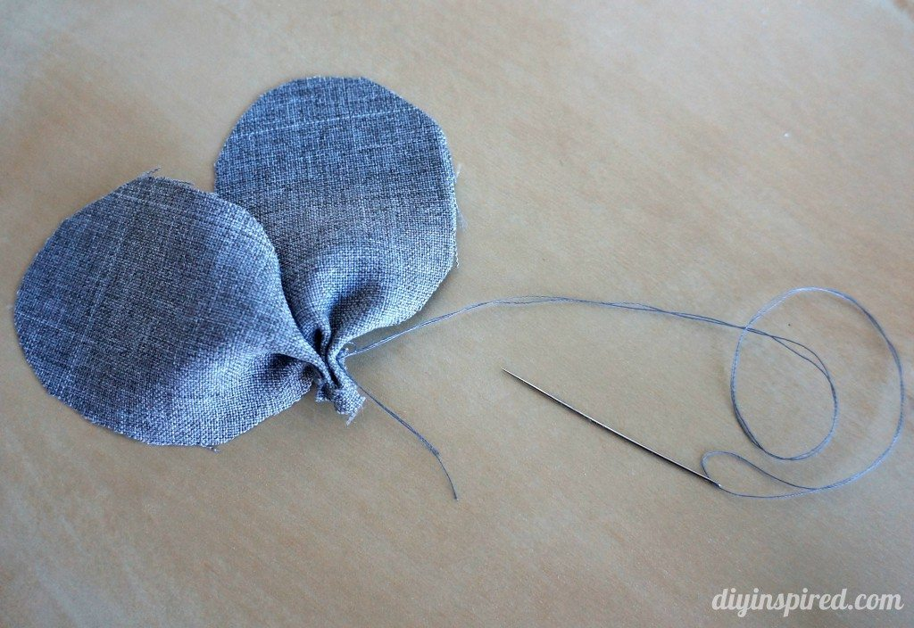 DIY-fabric flower