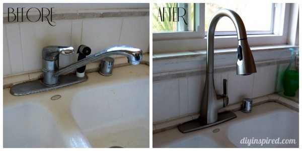 Moen How To Install A Kitchen Faucet Diy Inspired