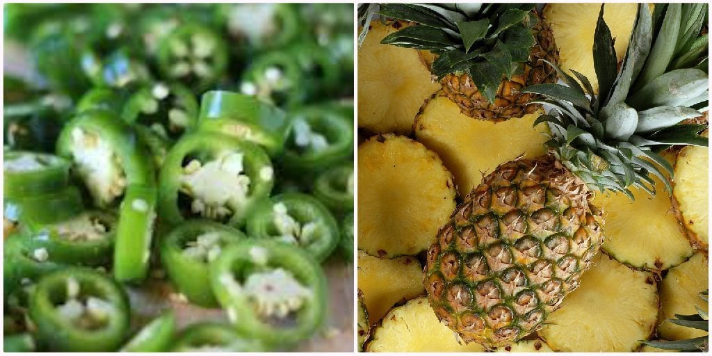Jalapeno Pineapple Collage
