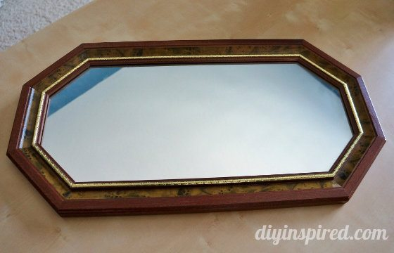 DIY Serving Tray: A Mirror Makeover - DIY Inspired