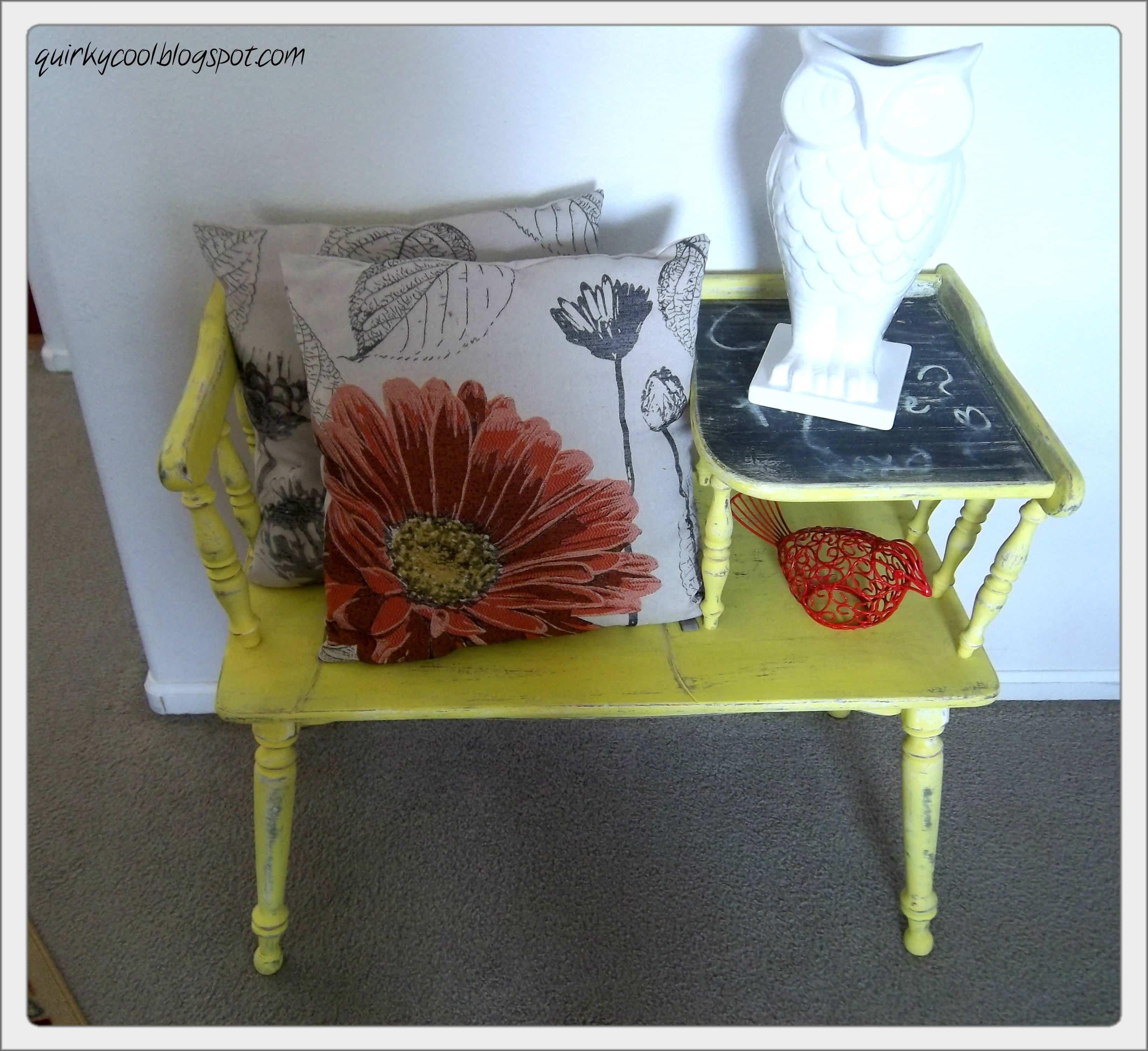 Upcycled Telephone Desk Diy Inspired