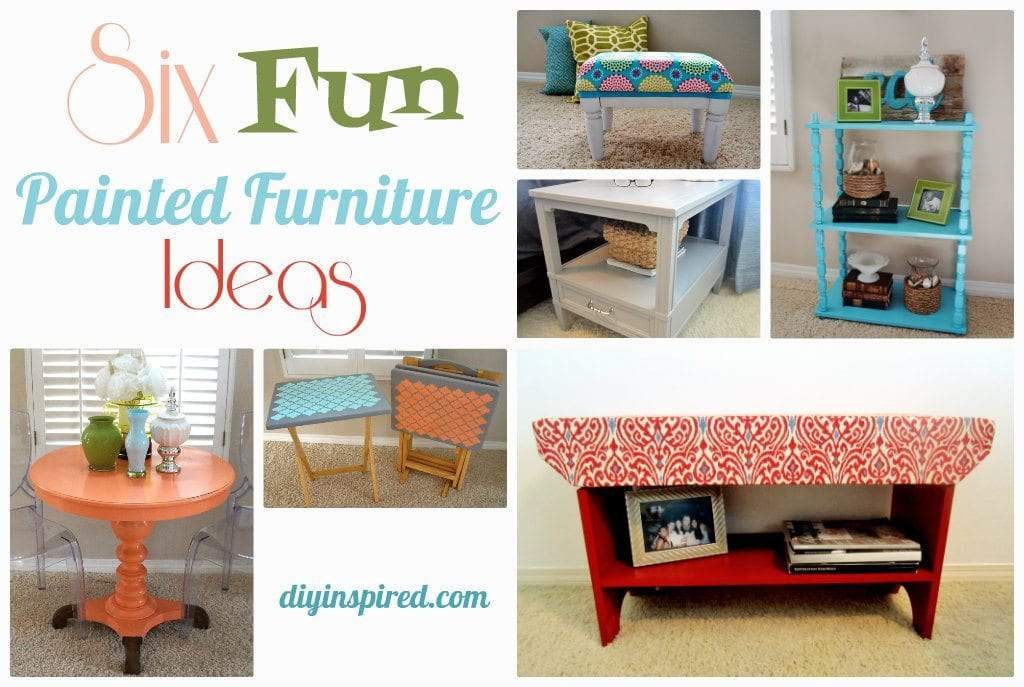 Six Fun Painted Furniture Ideas Diy Inspired