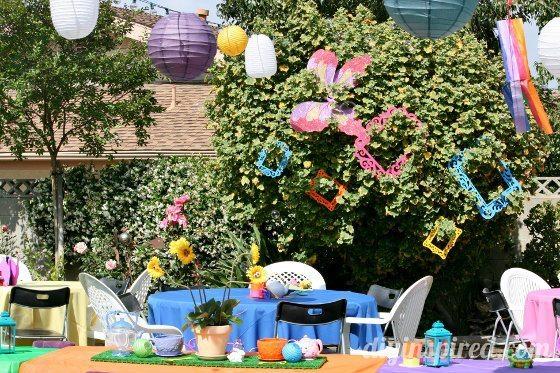 Alice in Wonderland First Birthday Party - DIY Inspired