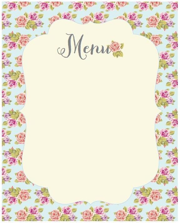 baby shower menu pictures to pin on pinterest