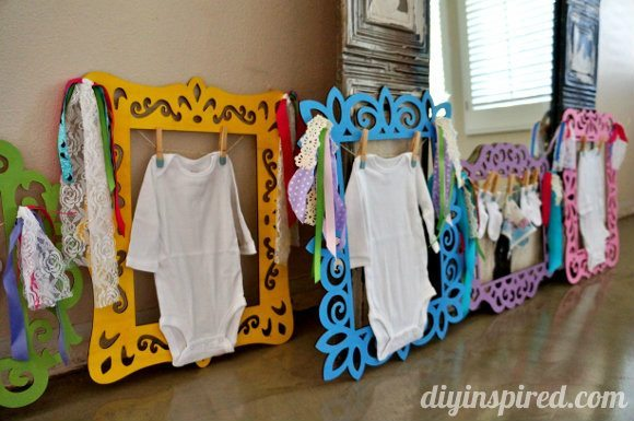 Fun And Easy Baby Shower Decorations Diy Inspired