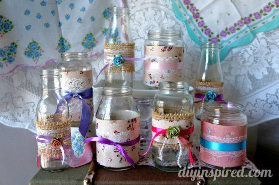 Vintage themed baby shower decorations diy inspired for Baby shower craft decoration ideas