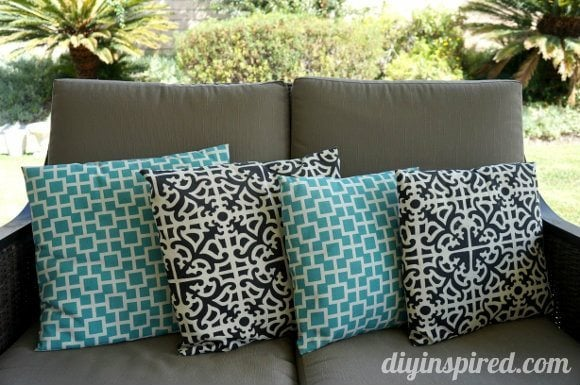 envelope pillow tutorial diy inspired. Black Bedroom Furniture Sets. Home Design Ideas