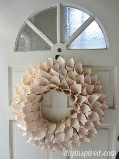 recycled-book-page-wreath-tutorial (2)