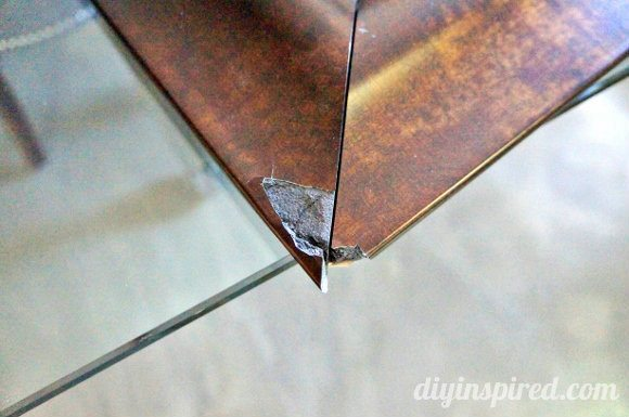 How To Repair A Broken Mirror Frame Diy Inspired
