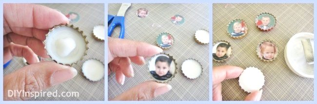 recycled-christmas-card-bottle-cap-magnets (1)