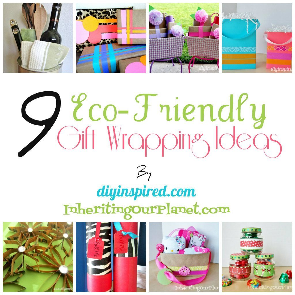 9 Eco Friendly Gift Wrapping Ideas DIY Inspired